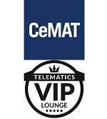 Telematics VIP-Lounge auf der CeMAT 2018